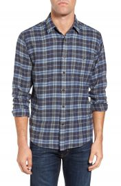 Faherty Seaview Trim Fit Plaid Sport Shirt at Nordstrom
