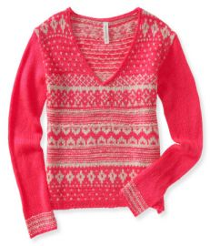Fair Isle Sweater at Aeropostale