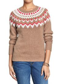 Fair Isle sweater at Gap