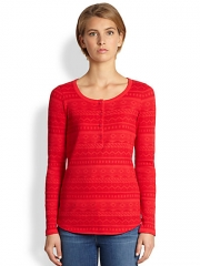 Fairisle Henley by Splendid at Saks Fifth Avenue