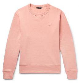 Fairview Fleece-Back Cotton-Jersey Sweatshirt by Acne Studios at Mr Porter