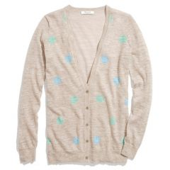 Fairweather cardigan in double dot at Madewell