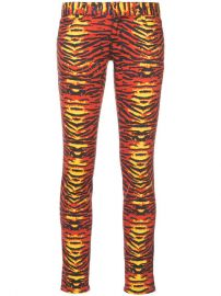 Faith Connexion Tiger Print Skinny Jeans at Farfetch