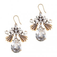 Fanned Droplets Earrings at J. Crew