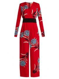 Farren floral-print wide-leg jumpsuit at Matches