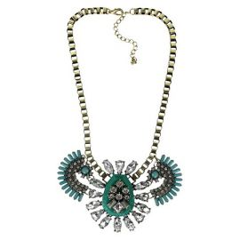Fashion Necklace with Stones at Target