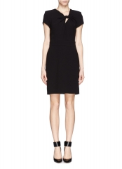 Fashion bow knot dress by Maje at Lane Crawford