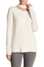 Fate   Choker Neck Knit Sweater at Nordstrom Rack