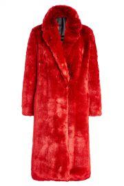 Faux Fur Coat CALVIN KLEIN 205W39NYC at Stylebop