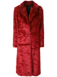 Faux Fur Coat CALVIN KLEIN 205W39NYC at Farfetch
