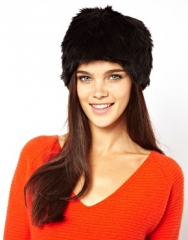 Faux Fur Hat at Asos