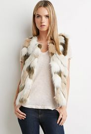 Faux Fur Vest  Forever 21 - 2000145854 at Forever 21
