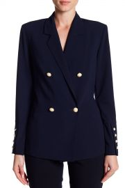 Faux Pearl Button Blazer at Nordstrom Rack