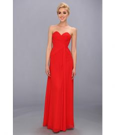 Faviana Strapless Sweetheart Dress 6428 Red at Zappos