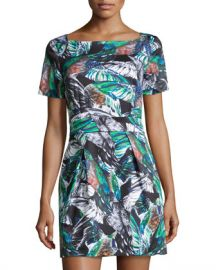 Feather Print Dress by French Connection at Last Call