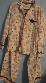 Feather Print Pajamas at eBay