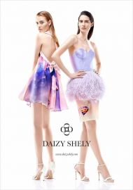 Feather skirt 2014 SS Collection at Daizy Shely