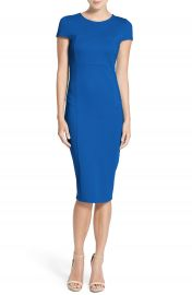 Felicity   Coco Ward Seamed Pencil Dress  Regular   Petite   Nordstrom Exclusive at Nordstrom