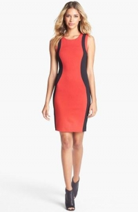 Felicity and Coco Colorblock Body Con Dress at Nordstrom