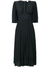 Fendi Cape-style Sleeves Dress - Farfetch at Farfetch