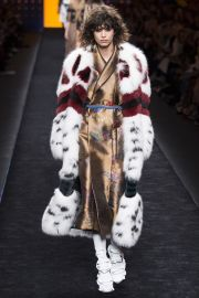 Fendi Fall 2016 Fur Coat at Vogue