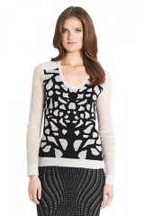 Feronia sweater at DvF