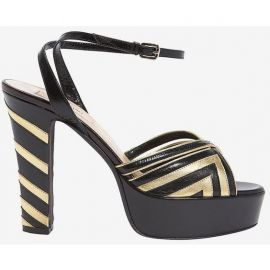 Fever Leather Platform Sandals by Valentino at Forward