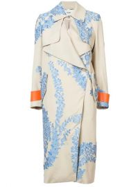 Fil Coupe Organza Oversized Coat by Fendi at Barneys