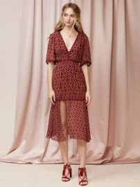 Finders Keepers The Label DRIFT MIDI DRESS at Fashion Bunker