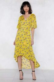 Finish It Off Floral Dress at Nasty Gal