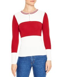 Fiona Color-Block Sweater by Sandro at Bloomingdales