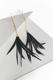 Fiona Paxton Iona Feather Earrings at Urban Outfitters