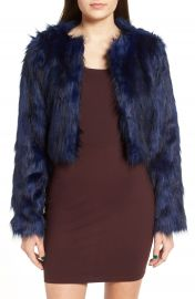 Fire Faux Fur Jacket at Nordstrom