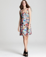 Firecracker dress by Nanette Lepore at Bloomingdales