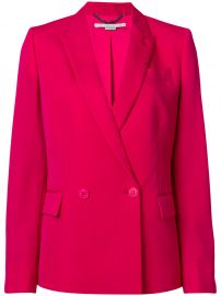 Fitted Double-Breasted Blazer by Stella McCartney at Farfetch