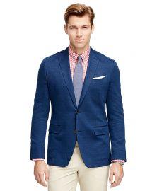 Fitzgerald fit herringbone sport coat at Brooks Brothers