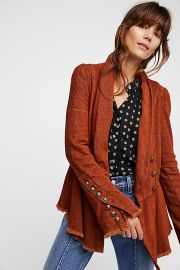 Flared Sleeve Blazer at Free People