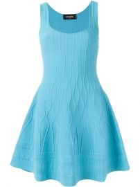 Flared Sleeveless Dress by DSquared2 at Farfetch