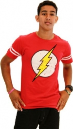 Flash Distressed logo tee at TV Store Online