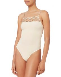 Fleur Du Mal Star Inset Bodysuit at Intermix