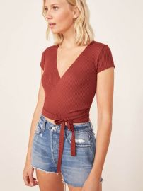 Flora Top at Reformation
