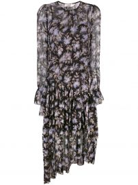 Floral Shift Dress by Zimmermann at Farfetch