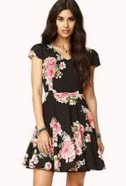 Floral Aline Dress at Forever 21