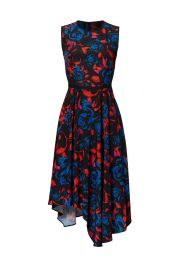 Floral Asymmetrical Dress  Hunter Bell at Rent The Runway