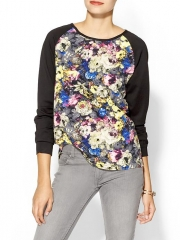 Floral Baseball Top at Piperlime