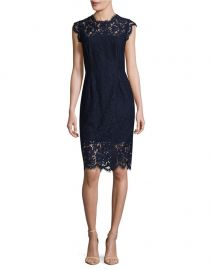 Floral Cap Sleeve Lace Sheath Dress by Rachel Zoe at Lord & Taylor