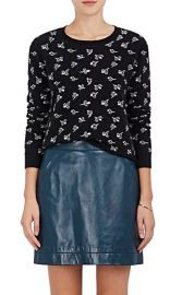 Floral Cashmere Crop Sweater by Marc Jacobs at Barneys
