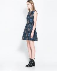 Floral Dress at Zara