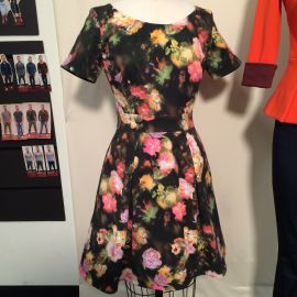 Floral Dress at Heather Pain