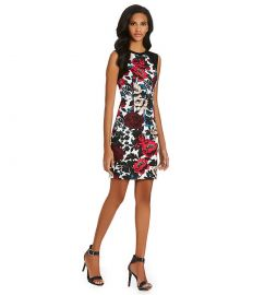 Floral Dress by Adrianna Papell at Dillards